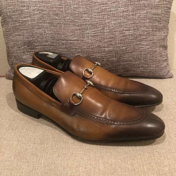 569828a4600 Gucci Other - Gucci jordaan horsebit loafer size 10 men cognac